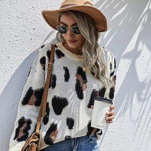 KAYLEE- Animal Print Sweater